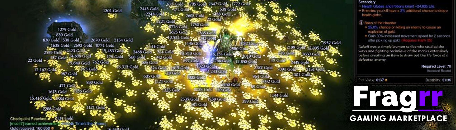 Diablo 3 ROS gold