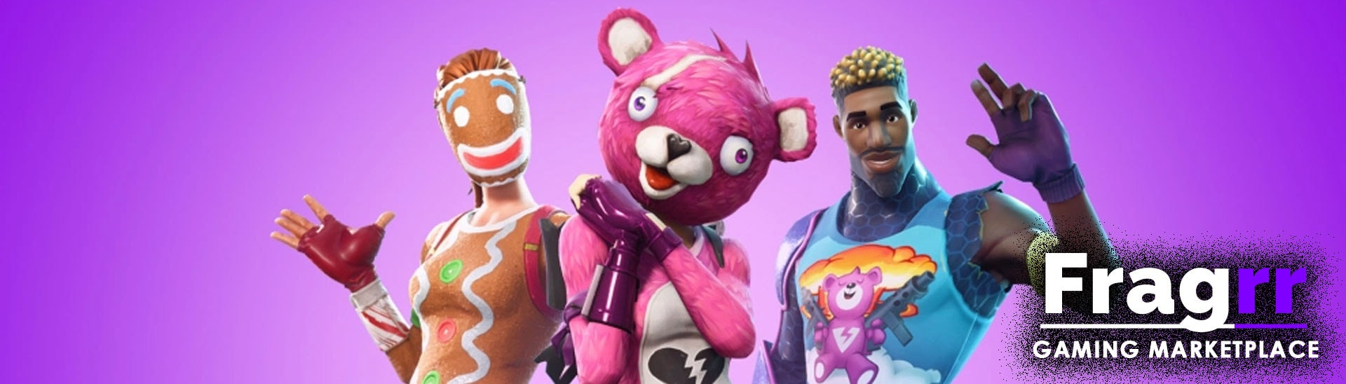 Fortnite Accounts for PS4, Xbox One and PC