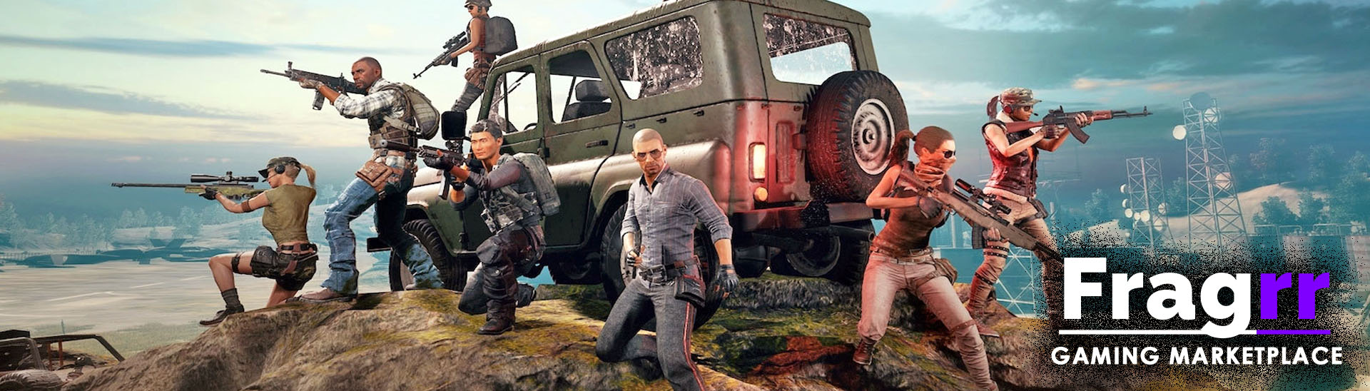 PUBG accounts for PS4, Xbox One & PC