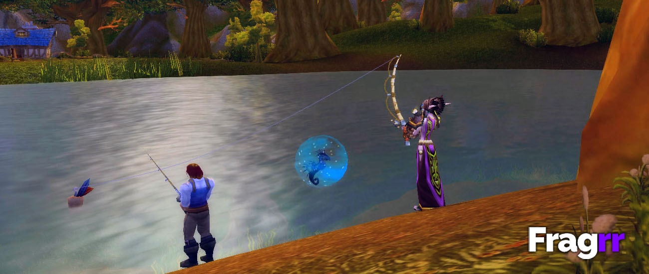 Fishing in World of Warcraft
