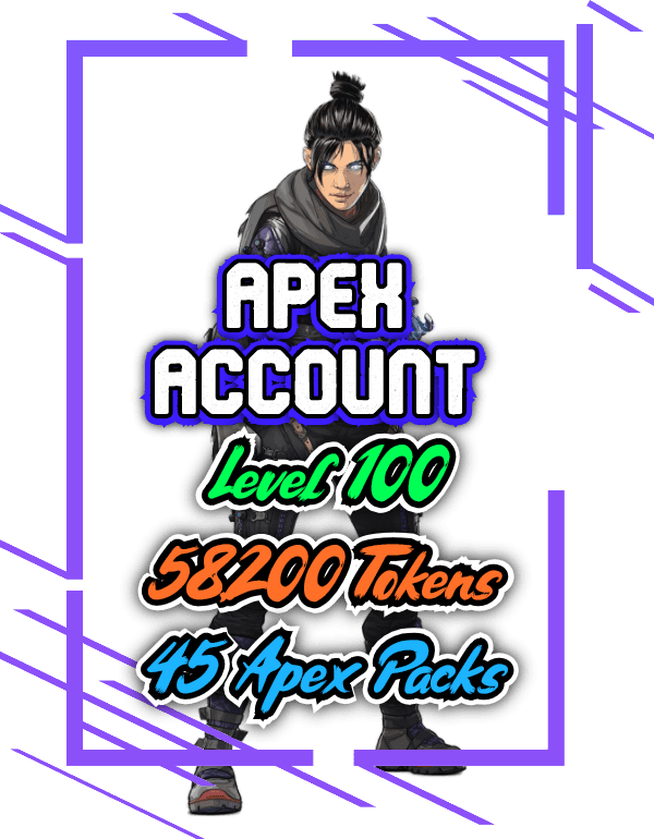 Apex Legends Level 100 accounts