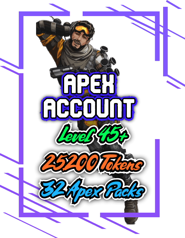 Apex Legends account level 45