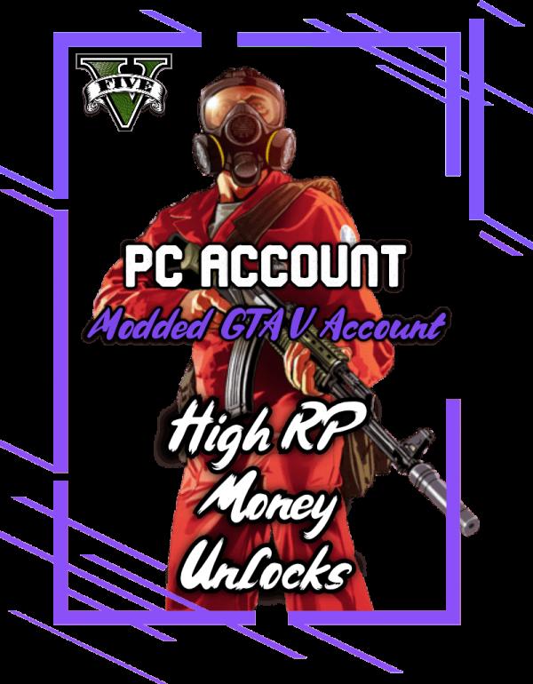 Modded GTA 5 Accounts for PS4, Xbox One & PC   Fragrr