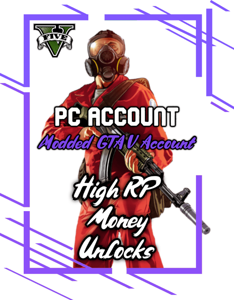modded gta 5 accounts for pc