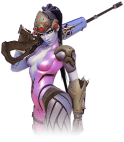 widowmaker Pink Mercy account