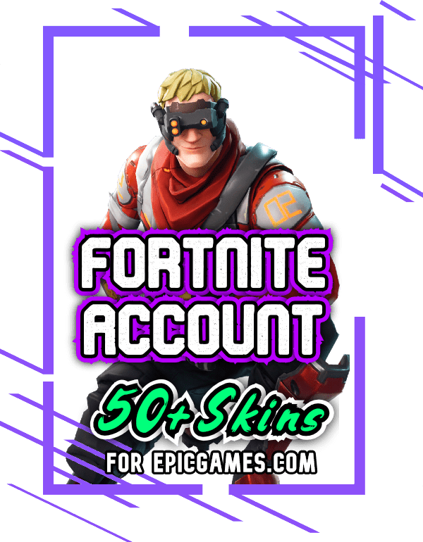 Fortnite account with 50+ skins