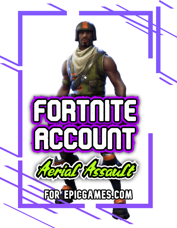 Fortnite Aerial Support account