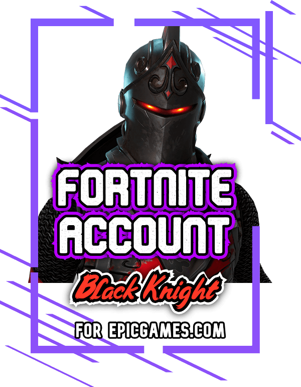 Fornite Black Knight account