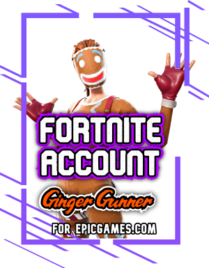 Fortnite Ginger Gunner Account