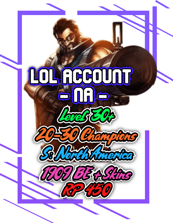 Rare lol accounts