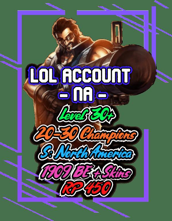 Rare lol accounts