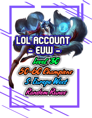 LoL Smurf Accounts for Sale | High ELO Rating | Fragrr