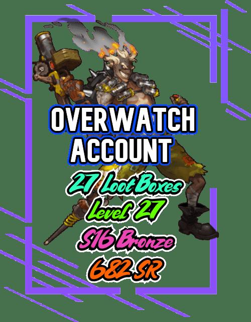 Overwatch bronze account