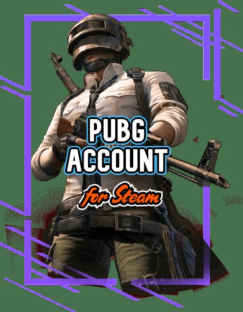 PUBG steam account