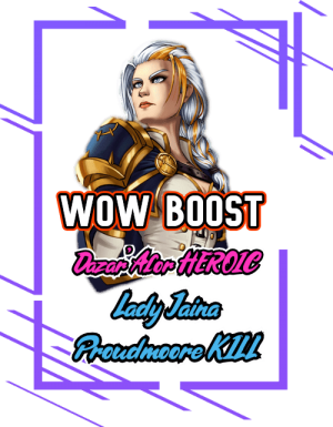 Lady Jaina Proudmoore Kill