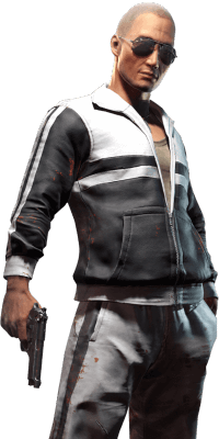 PUBG game character