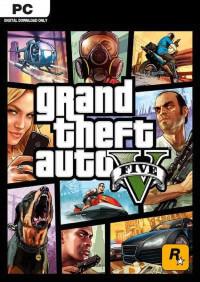 GTA V PC game cover