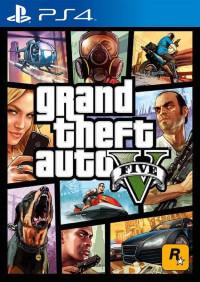 GTA V PS4 Game cover